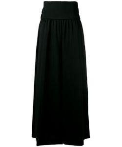 Y'S | Wide Leg Trousers 1 Polyurethane/Cupro/Wool