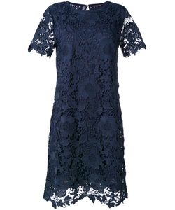 Luisa Cerano | Lace Fitted Dress 40 Polyester