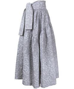 JOURDEN | Tied Waistband Textu Skirt 36 Cotton/Acrylic/Polyamide/Polyester