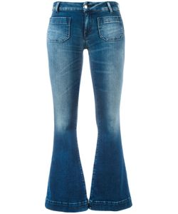 THE SEAFARER   Cropped Flared Jeans Size 27