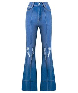Amapô | Distressed High Waist Flared Jeans Size 36