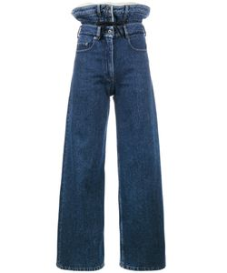 Y / PROJECT | Jeans With High Double Waistband Women