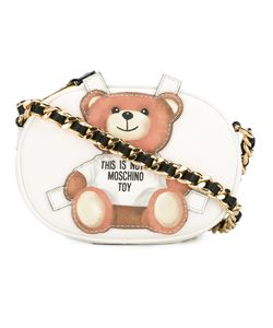 Moschino | Toy Bear Paper Cut Out Crossbody Bag Leather