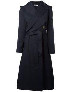 J.W. Anderson | J.W.Anderson Crossed Front Belted Coat