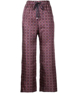 ASTRAET | Tile Print Trousers Women 00