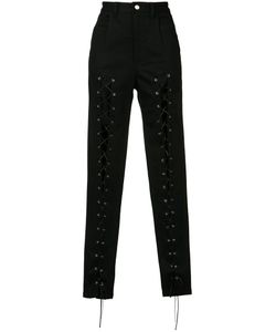 SALLY LAPOINTE | Lace Front Trousers Size