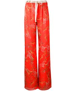 Alexis | Print Palazzo Trousers Small