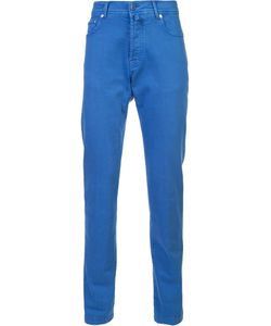 Kiton | Tape Trousers 32 Cotton