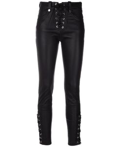Manokhi | Cropped Lace-Up Trousers
