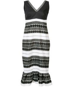 Nicole Miller | Платье Без Рукавов С Вышивкой