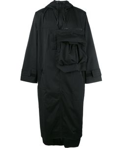 Y-3 | Asymmetric Oversized Coat Medium Polyester