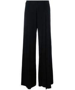 CAPUCCI   Fla Trousers 42 Acetate/Viscose/Spandex/Elastane/Spandex/Elastane