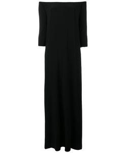 Norma Kamali   Off Shoulder Long Dress