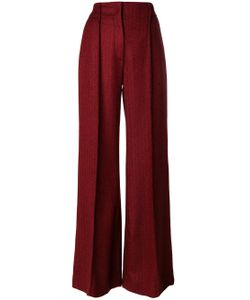 Miahatami   High-Rise Flared Tailored Trousers