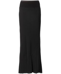 Rick Owens | Coda Maxi Skirt 44 Cotton/Nylon/Acetate/Viscose