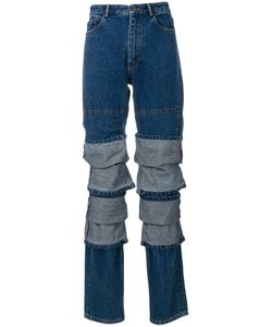 Y / PROJECT | Multi Layered Jeans Women