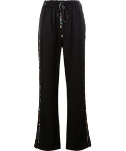 Peter Pilotto | Wide Leg Drawstring Trousers Size 8