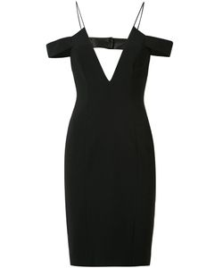 Jay Godfrey | Off-Shoulders Straps Fitted Dress