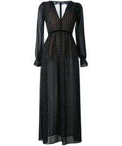 For Love & Lemons | For Love And Lemons Polka Dot Maxi Dress Size Medium