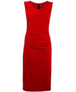 Norma Kamali   Shirred Waist Dress Size Small