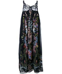 Fendi   Print Maxi Dress 42