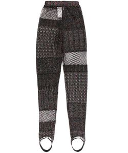 Circus Hotel | Patchwork Knit Trousers Women
