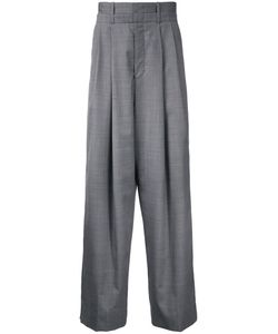 Wooyoungmi | Pleated Wide-Leg Trousers 48 Wool