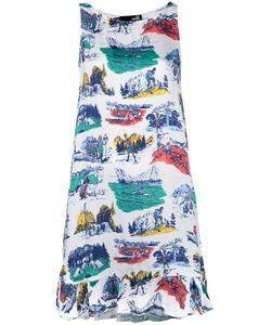Love Moschino | Printed Dress Size 38 Viscose