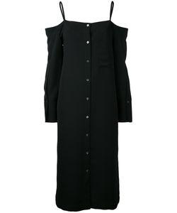 LE CIEL BLEU | Платье-Рубашка С Открытыми Плечами