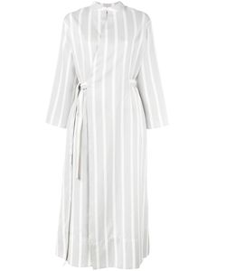 Joseph | Laurence Striped Dress 40 Silk/Cotton