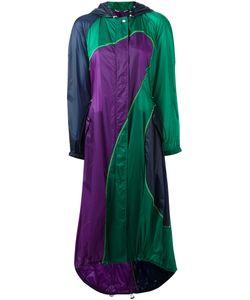 Versace | Colour Hooded Coat 42 Polyamide