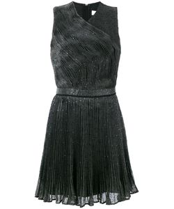 Carven | Sequinned Pleated Dress 42
