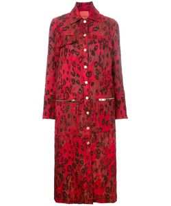 MANNING CARTELL   Amplified Leopard Coat 10 Acrylic/Polyamide/Polyester/Acetate