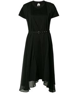 Comme Des Garçons Noir Kei Ninomiya | Sheer Asymmetric Dress