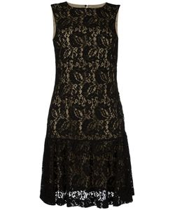 Moschino | Lace Ruffled Dress 44 Polyamide/Rayon