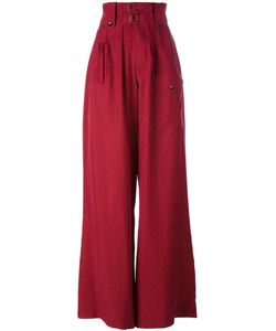 Joseph | High-Waisted Palazzo Pants Size 40