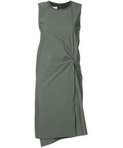 Brunello Cucinelli | Twisted Waist Dress Medium Acetate/Silk/Cotton/Polyamide