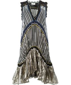 Peter Pilotto | Striped Flared Dress Size Small