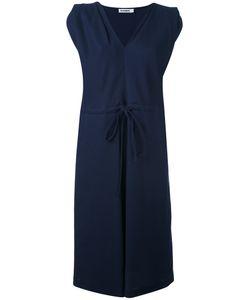 Jil Sander | Однотонное Платье С Запахом