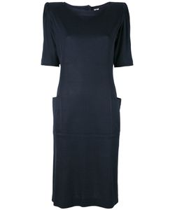 Emanuel Ungaro Vintage   Платье С Подложенными Плечами
