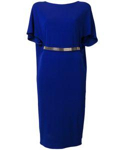 Lanvin   Платье С Рукавами Клеш И Поясом