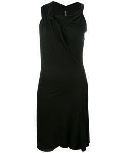 Rick Owens Lilies | Draped Asymmetric Dress Size 44