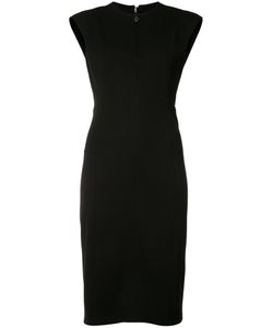Akris Punto | Zipped Neck Dress 8 Viscose/Polyimide/Spandex/Elastane