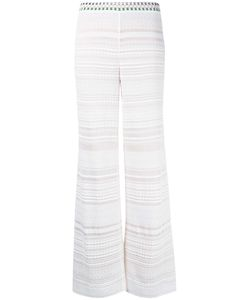 Missoni | Knitted Trousers 44 Viscose/Polyester/Silk/Spandex/Elastane