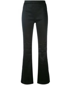 Pierre Balmain | Satin Slim Flared Trousers