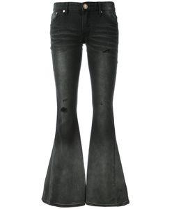 One Teaspoon   Low Rise Fla Jeans 26 Cotton/Spandex/Elastane