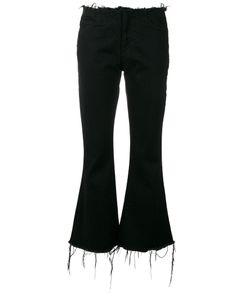 Marques Almeida   Marquesalmeida Cropped Fla Jeans 10 Cotton