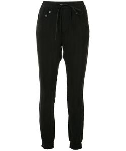 R13 | Cropped Drawstring Trousers