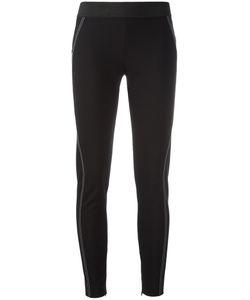 Stella Mccartney | Stitching Detail Leggings 42 Cotton/Polyamide/Spandex/Elastane/Elastodiene