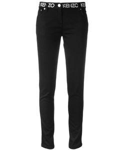 Kenzo | Logo Waistband Skinny Jeans 38 Cotton/Polyester/Spandex/Elastane
